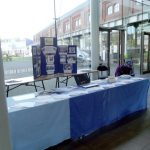 The Society stand