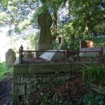 The grave of ST Evans