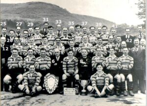 No. 33: Skewen RFC 1951 - 52 Champions of West Wales and winners of the president's Cup