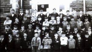 144: Coedffranc Boys' School class 3 1931.  We have no names for this group.
