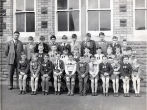 134:  Coedffranc Boys' 1963 class donated by John Richards.  We have now named all pupils and teacher.