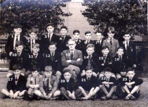 114: Neath Boys' Grammar School class c. 1953.  We only have three names for this photograph nos. 6, 9 and 14.  Can you help with the other names please? -