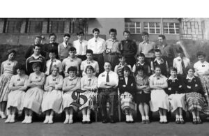 NO. 99: Rhydhir Secondary School Class 1959 donated by Frank Long