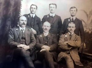 116: An unknown group of men donated by Maria Griffiths