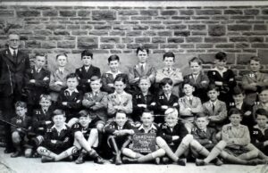 No. 89: Coedffranc Boys' School class 1939. we only have only pupil identified so far.
