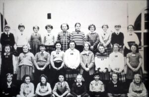 No. 97: Coedffranc Girls' School class 1961.  We have been given all the names for this class - thank you.