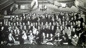 104 Skewen Co-operative Society staff dance at Burton's Hall, Neath, 1950
