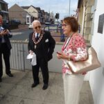 Vice Chairman Virginia Jones gives a vote of thanks to Councillor Davies